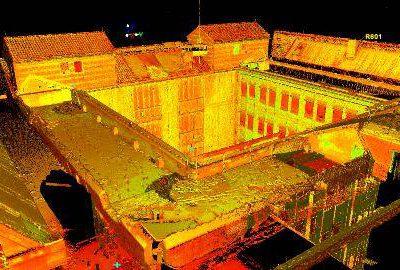 Volledig 3D inmeten UMC Radboud met laserscanner