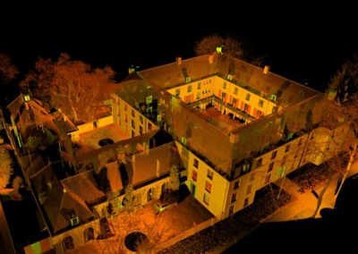 3d inmeten voor herbestemming Fraterhuis Tilburg