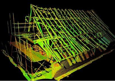 Oudste boerderij van Nederland volledig 3D ingescand