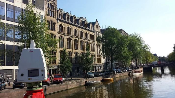 3d inmeten Kas Bank Spuistraat Amsterdam