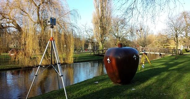 3d scannen appels Rotterdam