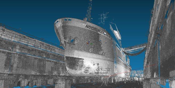 3D scan schip Noordhoek Pathfinder