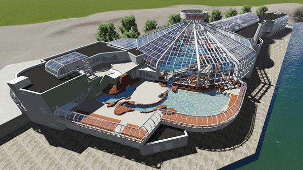3D model Tropicana Rotterdam