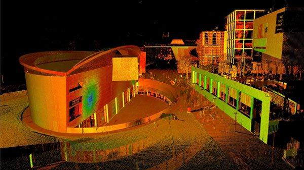 3D scan Van Gogh-museum