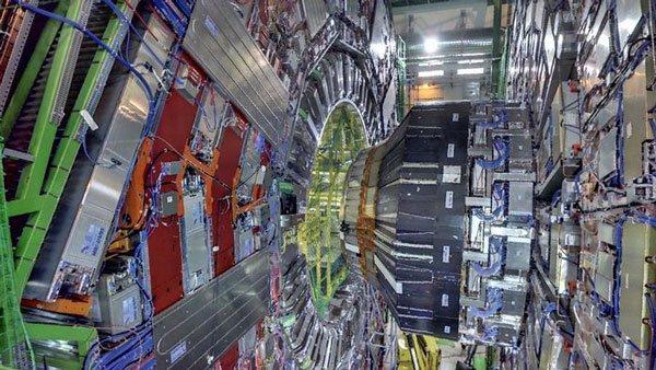 LHC detector CERN Geneve