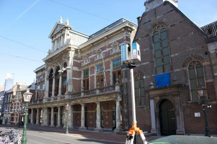 Aalmarkt Leiden 3D nulmeting