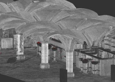 3D scanning Raadskelders Stadhuis Den Bosch