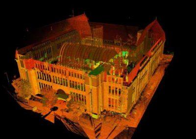 Efficiënt 3D inmeten Postkantoor Neude Utrecht