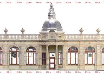 3D model Oranjerie Hyde park voor restauratie