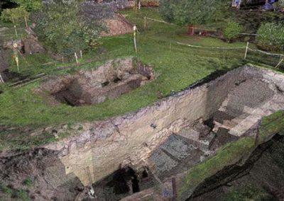 Laserscanning archeologisch onderzoek Philips van Kleef-bolwerck