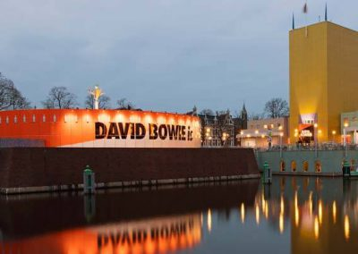 3D scannen David Bowie tentoonstelling
