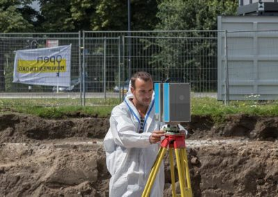 3D scannen opgraving Pieckepoort