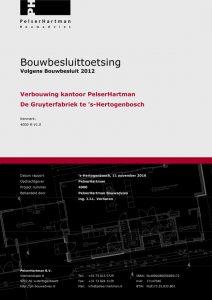 Voorbeeld bouwbesluittoetsing Bouwbesluit 2012.