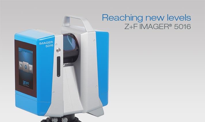 Z+F 5016 3D laserscanner