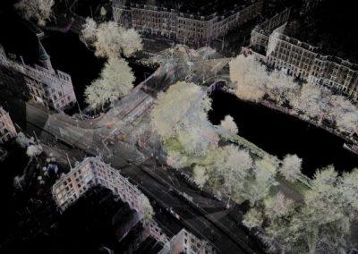3D scannen Singelgrachtgarage Amsterdam