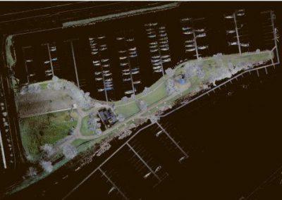 3D scan haven Enkhuizen