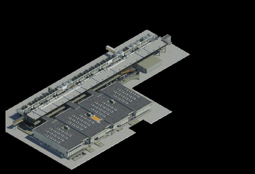 Bovenaanzicht Gemini 3D model
