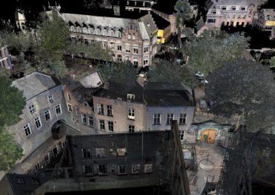 3D Scan Binnendieze & poort Oude Gasthuisstraat