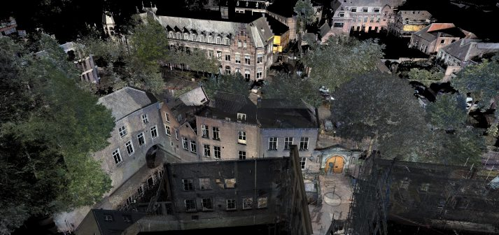 pointcloud 3D scan Binnendieze Den Bosch