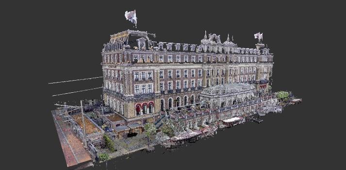 3D scan Amstelhotel