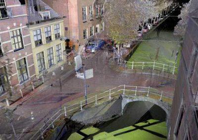 3D scanning Weesbrug voor onderhoud  Delft