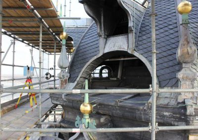 Orthofoto's voor restauratie Stevenskerktoren Nijmegen