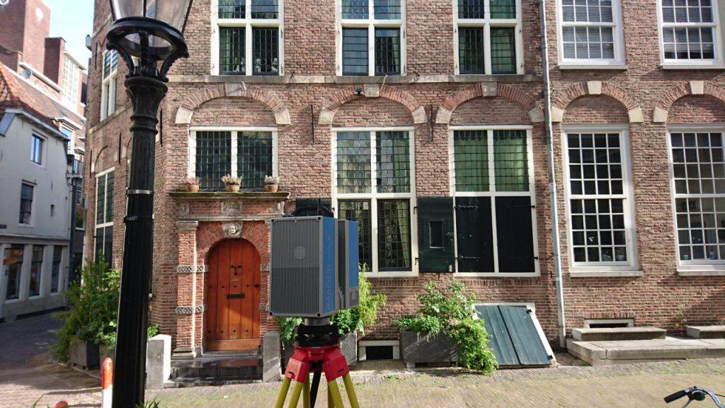 3D scannen filmhuis Utrecht
