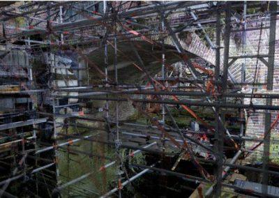 3D scan brug Kromme Nieuwegracht Utrecht