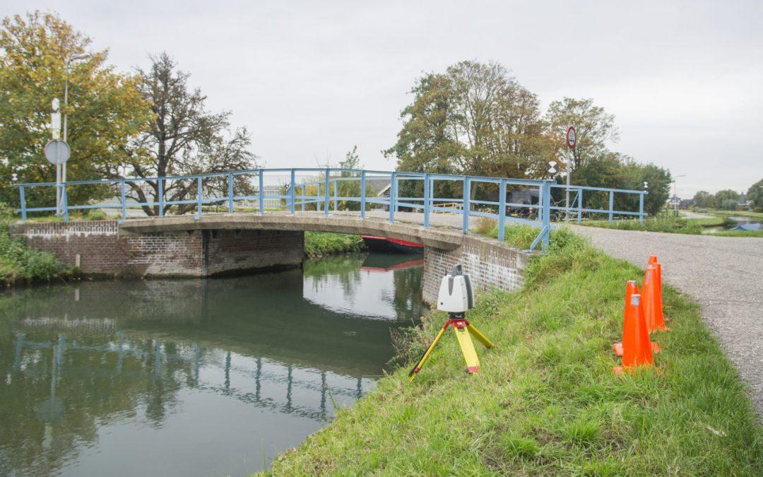 3D scan brug gemeente Westland voor pilotproject