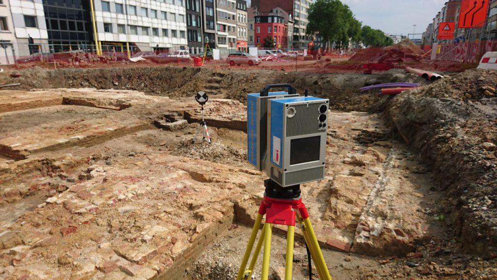 3D scanning Archeologie Antwerpen
