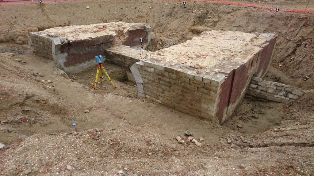 3D scanning archeologische resten Spaanse Omwalling