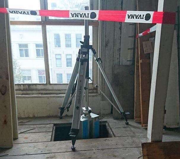 3D scanner ondersteboven
