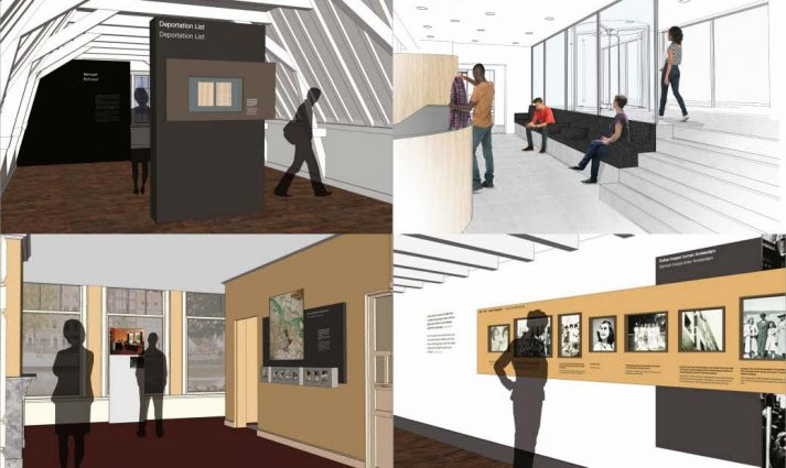 nieuwe elementen Anne Frank Huis