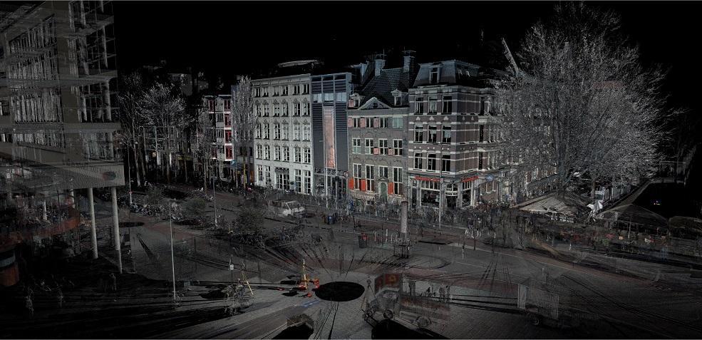 pointcloud 3D scannen Rembrandthuis
