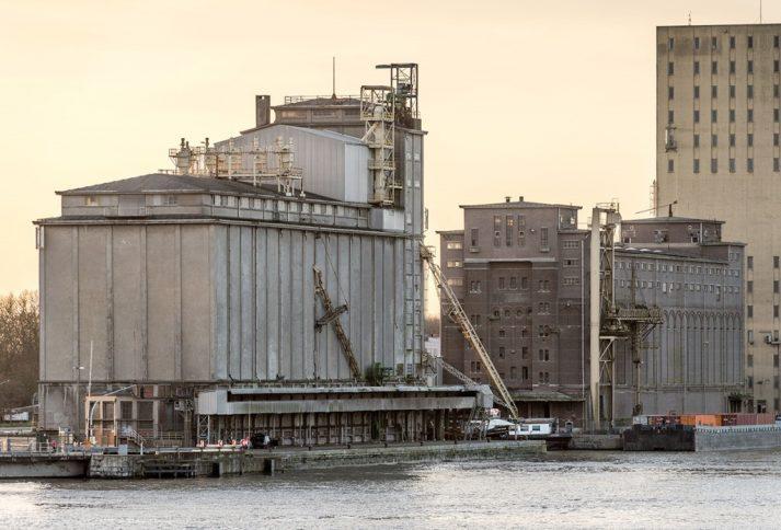 3D scan industrieel erfgoed SAMGA Antwerpen met orthofoto´s
