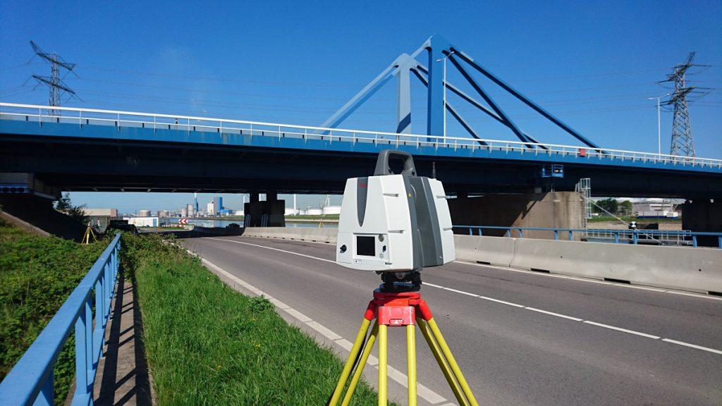 3D scannen Suurhoffbrug