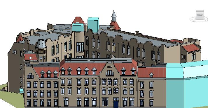 3D inmeten bibliotheek UvA Amsterdam