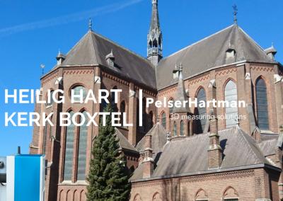 3D scan Heilig Hart kerk Boxtel