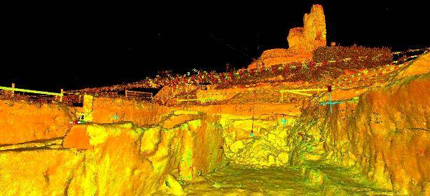 3D scan archeologie