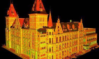 3D laserscan Ooglijdersgasthuis Utrecht