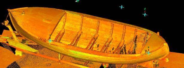 Inmeten boten voor interieurbouw en restauratie