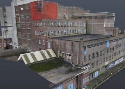 3D scannen veevoederfabriek Brokking in Wormerveer