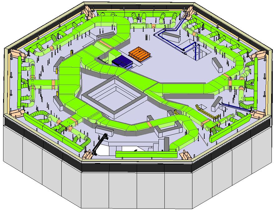 3D scannen Verkeerstoren Schiphol
