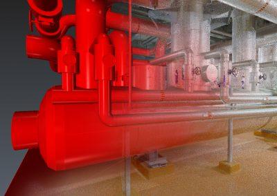 3D scannen installaties FrieslandCampina Borculo