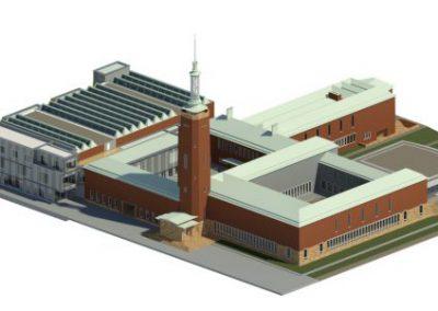 3D scan as-built museum Boijmans van Beuningen