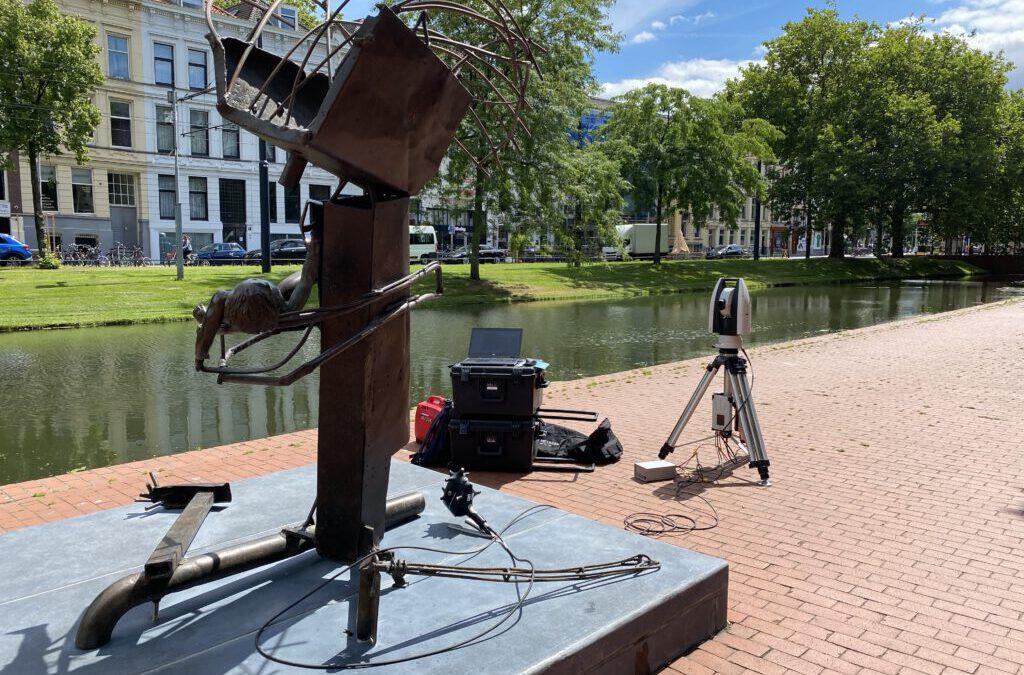 3D scanning 19 Rotterdamse beelden