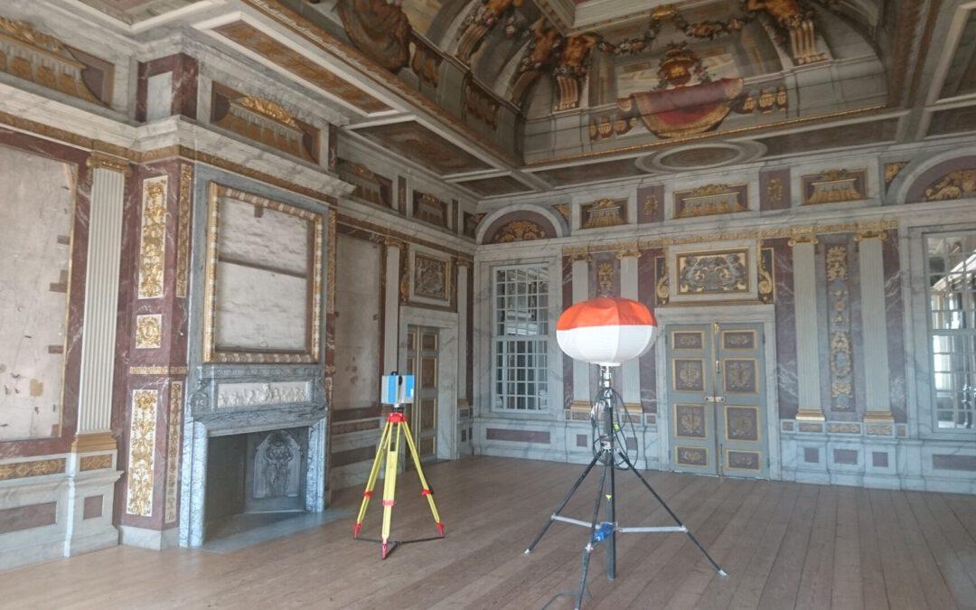 3D scan maken van Paleis het Loo