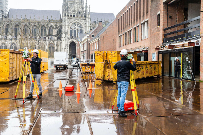 Pelserhartman voert nulmeting uit binnen het monitoringsproject rondom de sloop van het Theater aan de Parade in Den Bosch